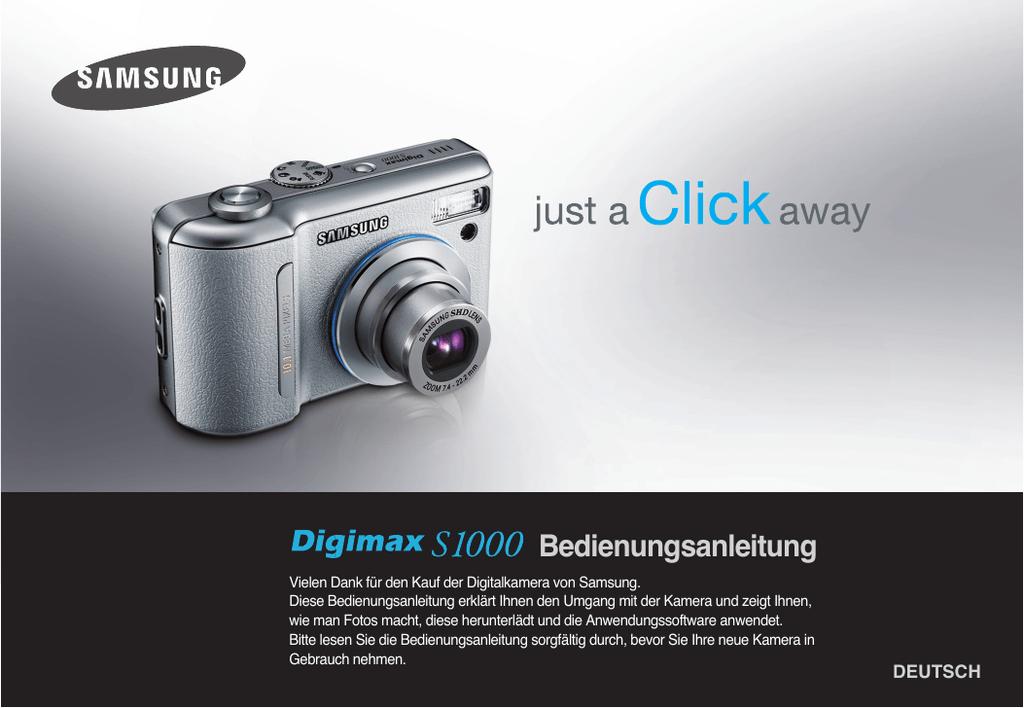 Samsung DIGIMAX S1000 Benutzerhandbuch   manualzz.com