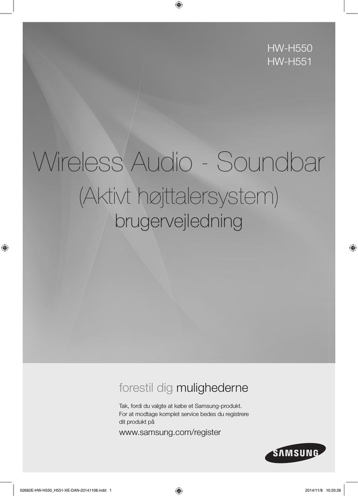 Kan du tilslutte en modtager til en soundbar