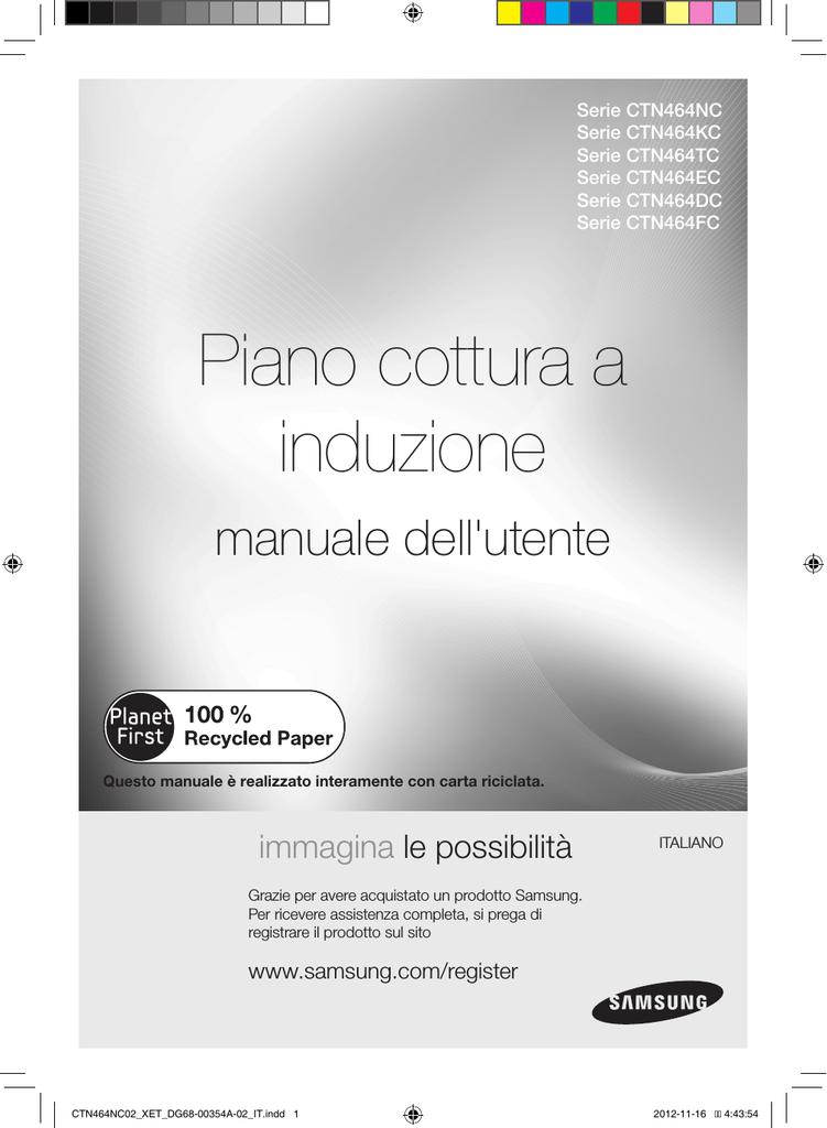 Samsung CTN464KC02 Manuale utente | manualzz.com