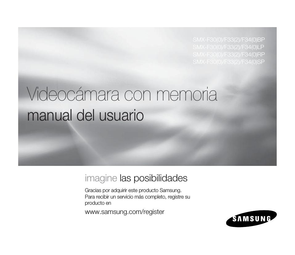 Samsung SMX-F30BP Manual de Usuario   manualzz.com