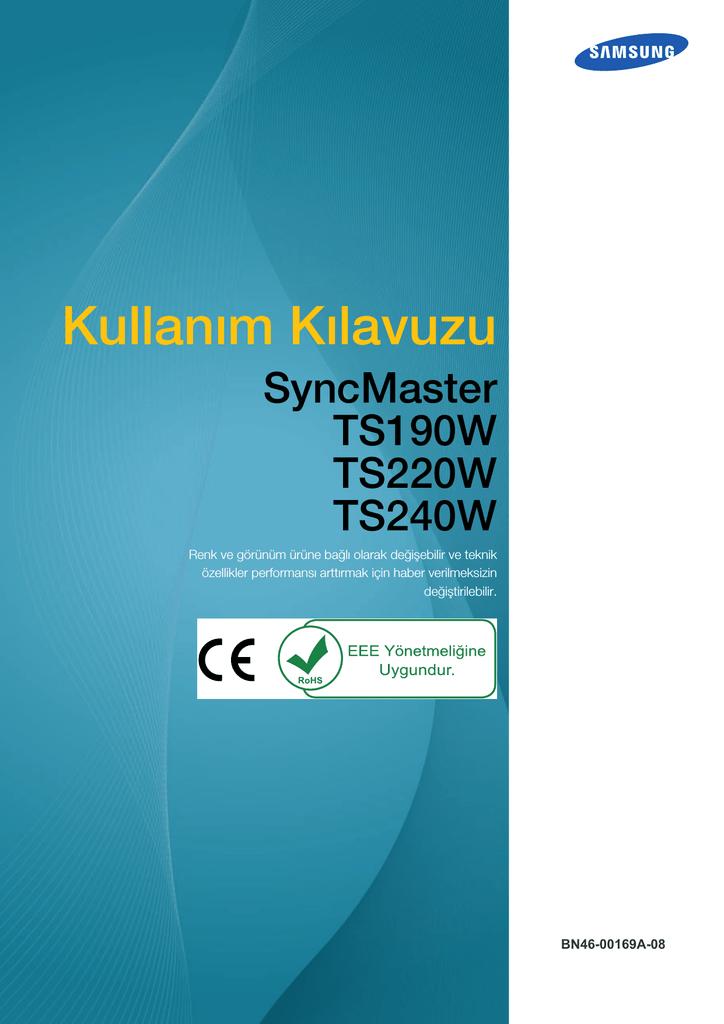 Samsung Ts220w Kullanim Kilavuzu Manualzz Com