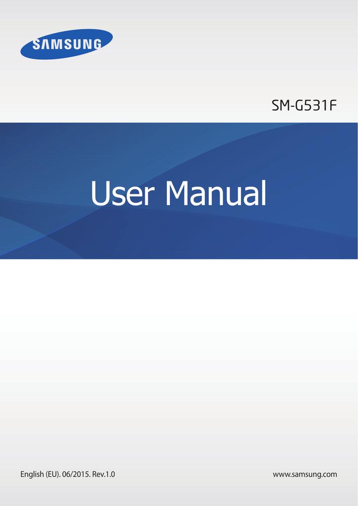 Samsung SM-G531F User Manual(Lollipop) | manualzz com