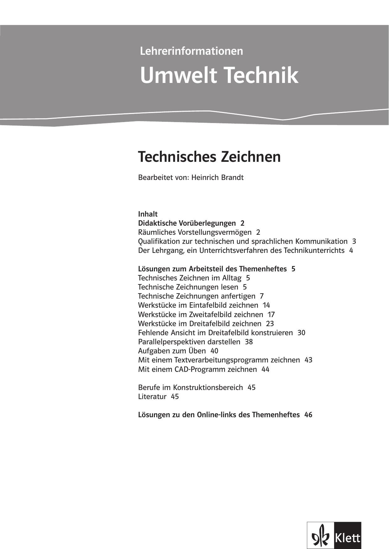 Umwelt Technik - Ernst Klett Verlag | manualzz.com