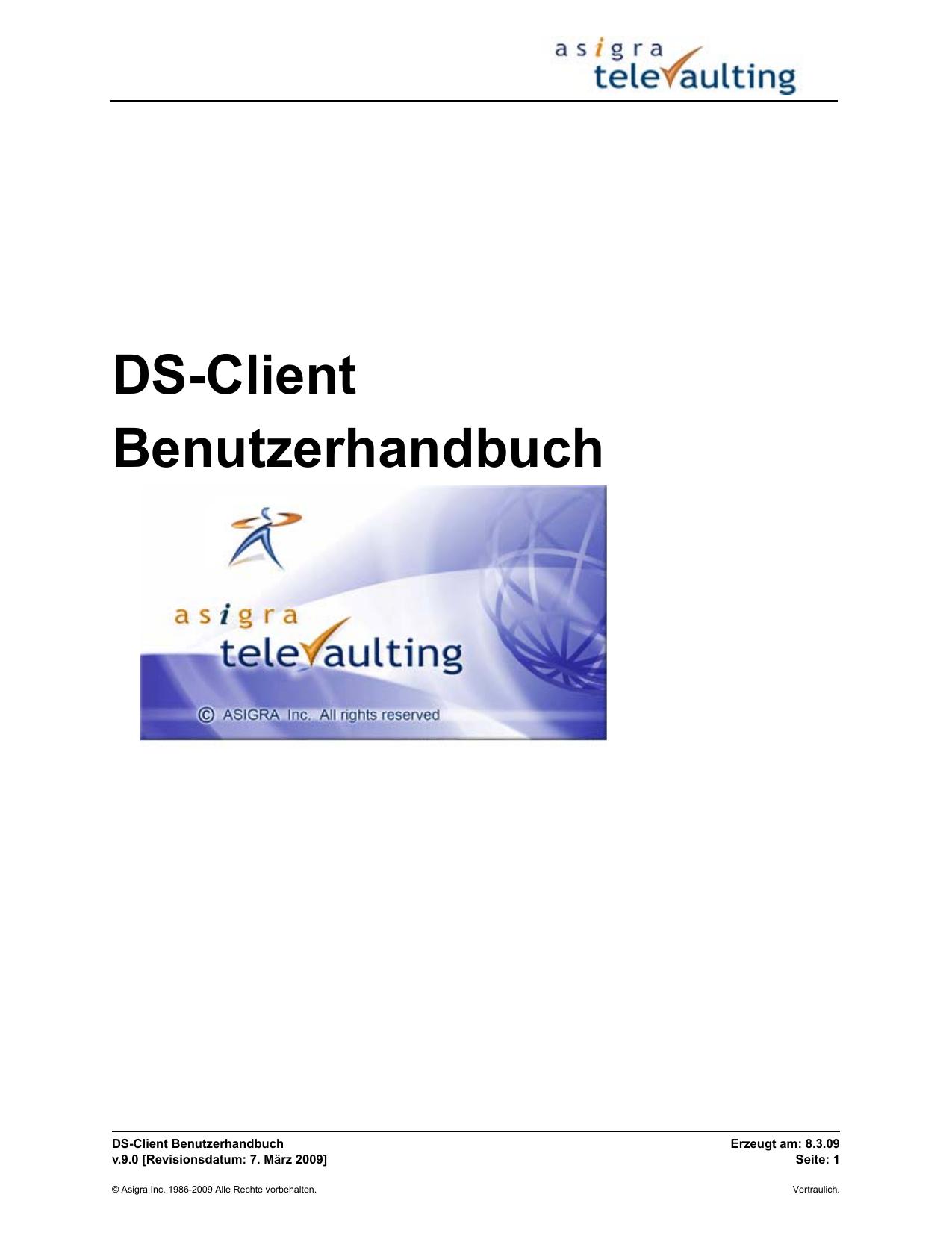 DS-Client Benutzerhandbuch | manualzz.com