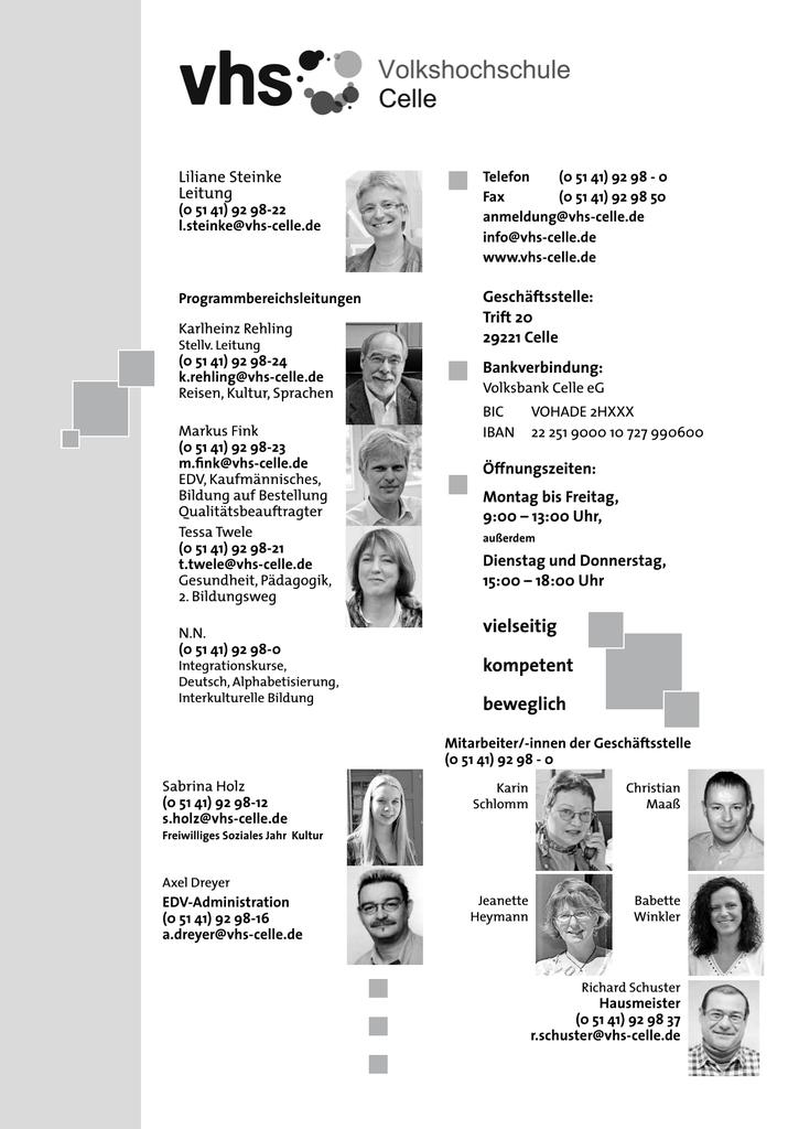Frühjahrsprogramm 2014 - Deutsches Institut für Erwachsenenbildung ...