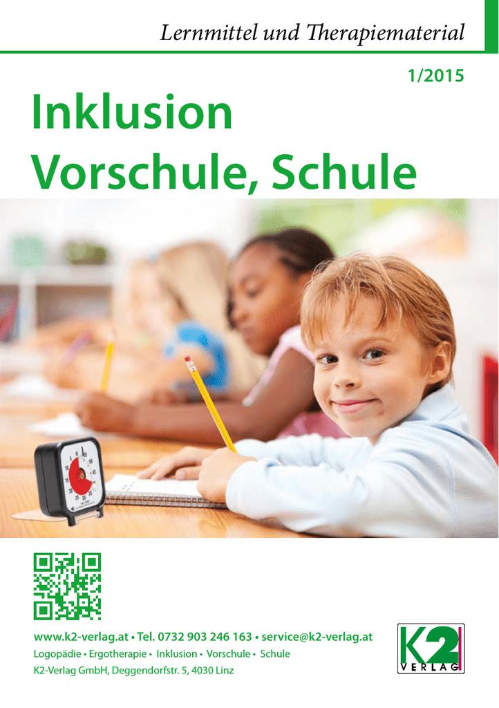 Inklusion, Vorschule, Schule Katalog - K2 | manualzz.com