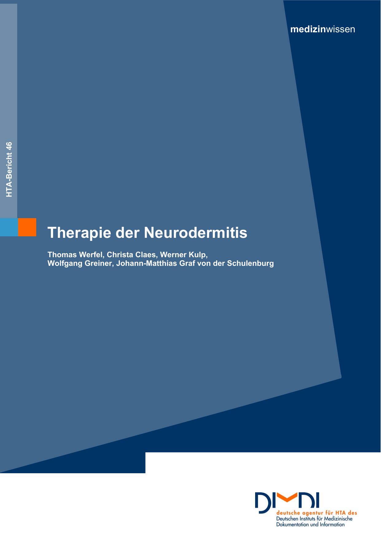 Therapie der Neurodermitis |