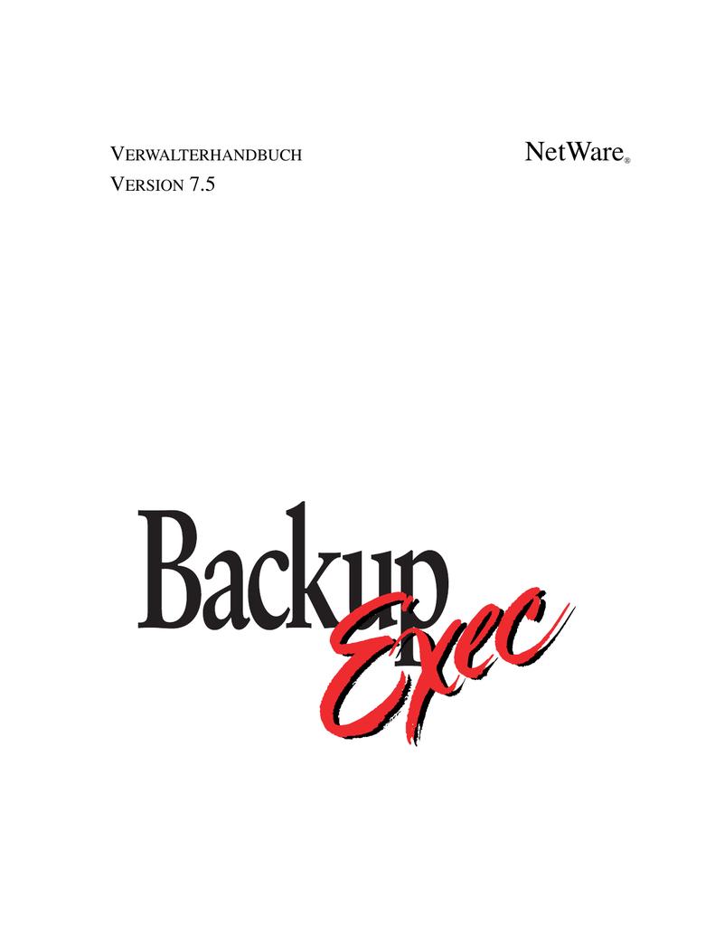 NetWare® | manualzz.com