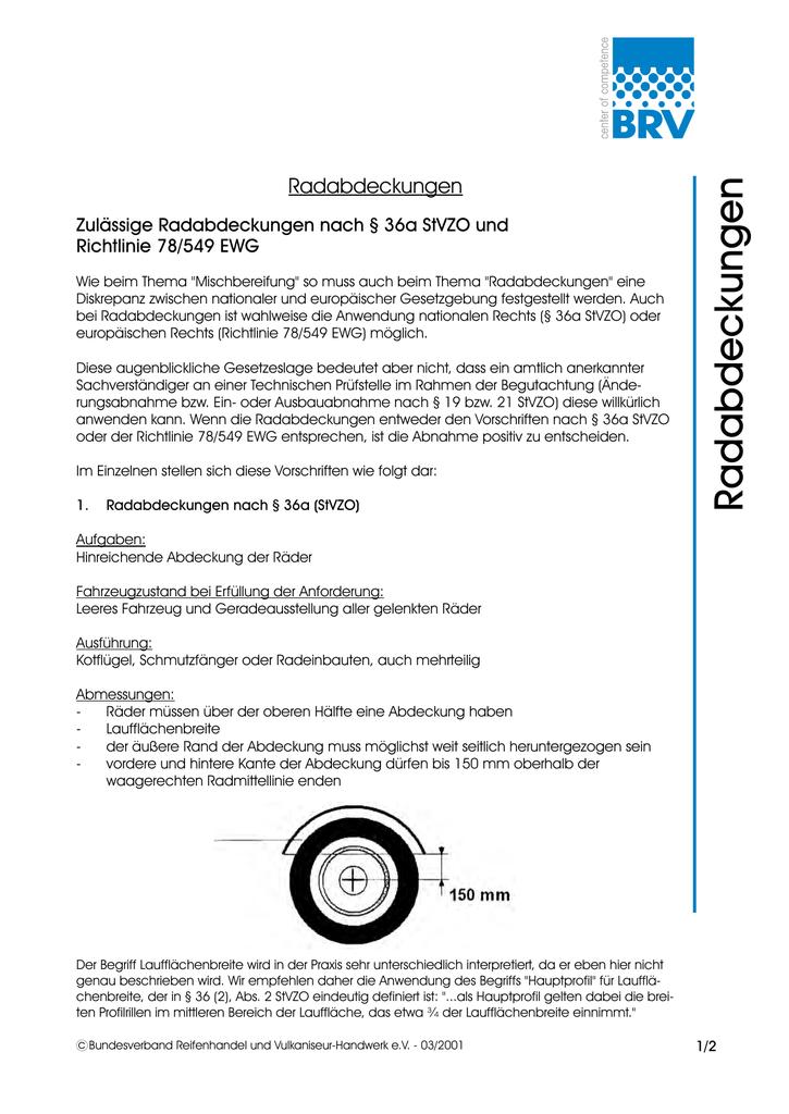 Radabdeckungen - Bundesverband Reifenhandel und Vulkaniseur ...