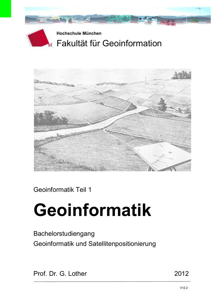 Geoinformatik - Hochschule München