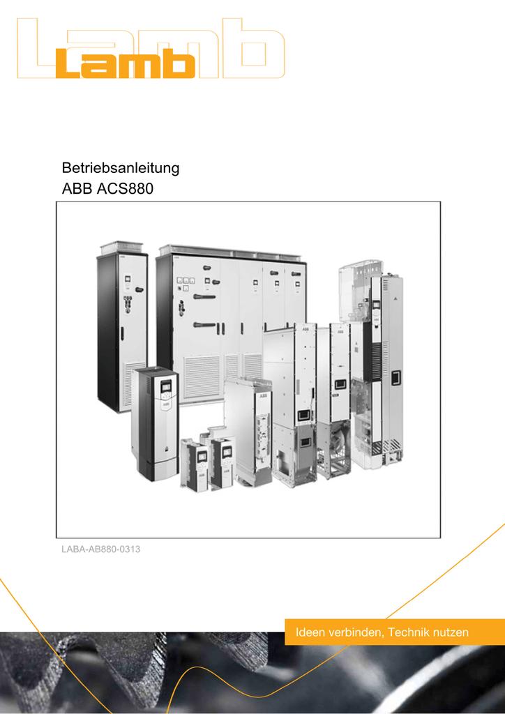 ABB ACS880 03/13 PDF, 3.7 MB | manualzz.com