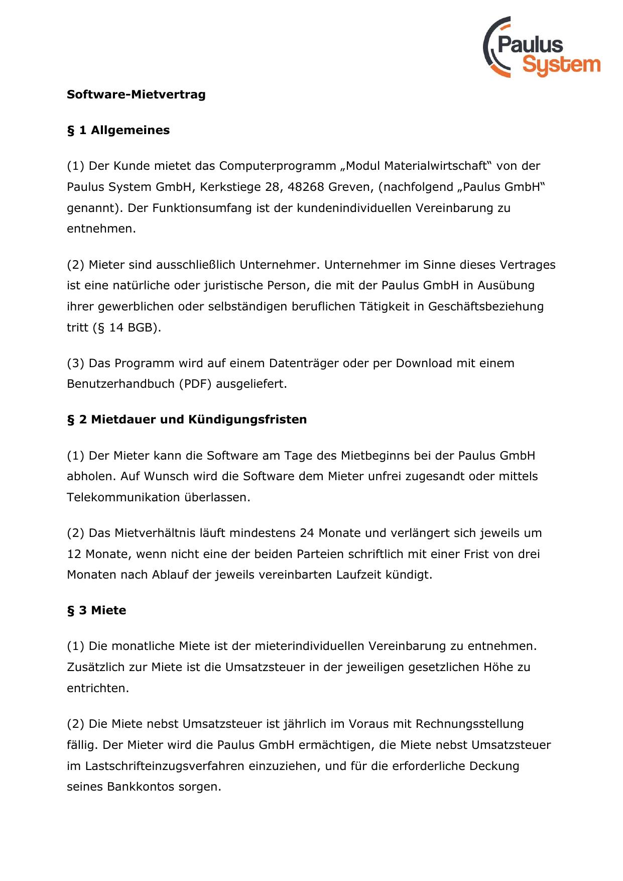 Weitere Details Zum Mietvertrag Manualzzcom