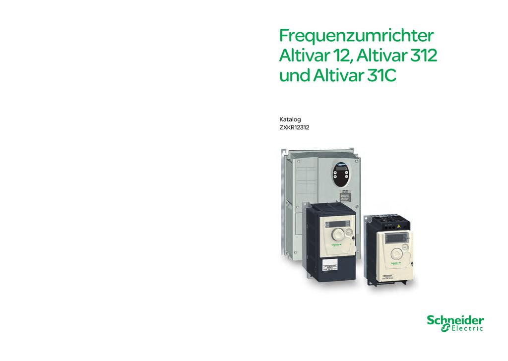 Schneider Electric Altivar312 Frequenzumrichter ATV312H037M2