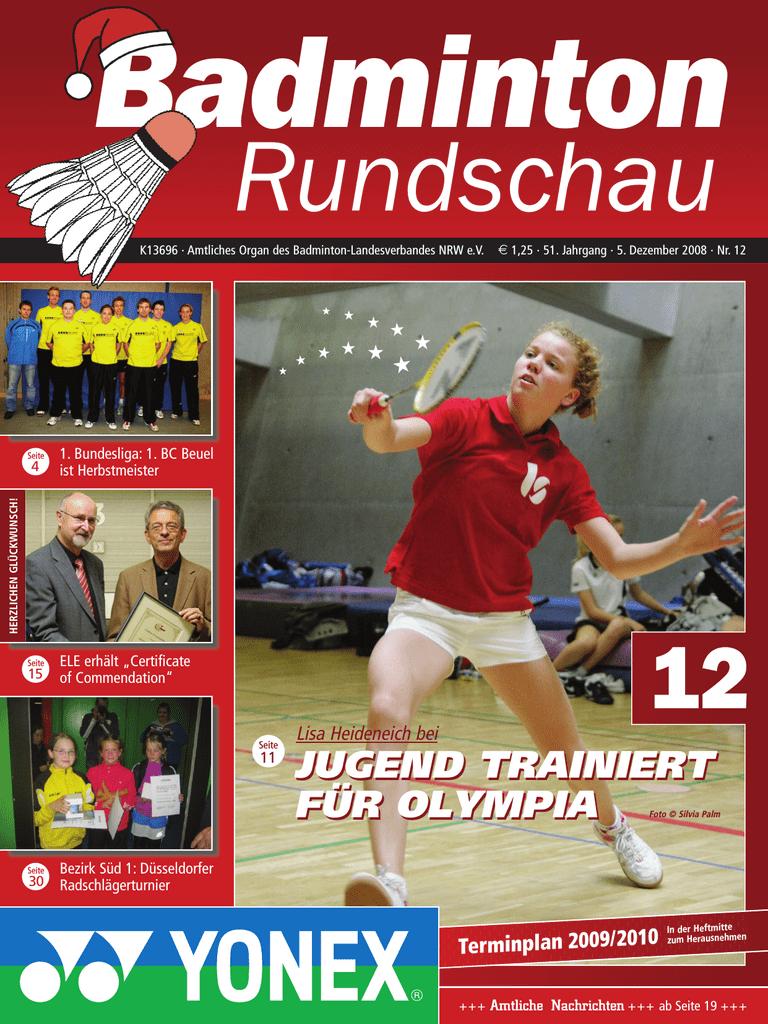 Badmintonschläger für Duisburg – RW Sportartikel: Badminton