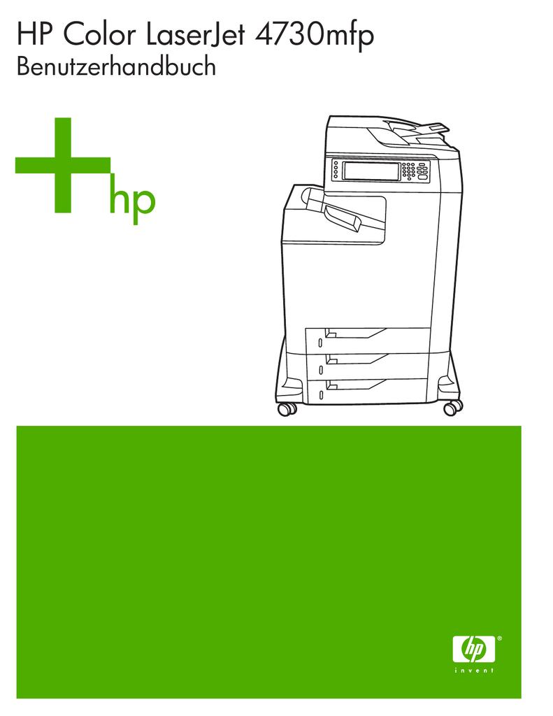 HP Color LaserJet 4730mfp – DEWW | manualzz.com