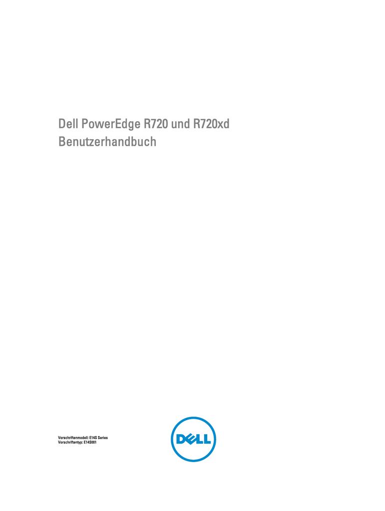 Dell PowerEdge R720 und R720xd Benutzerhandbuch | manualzz.com