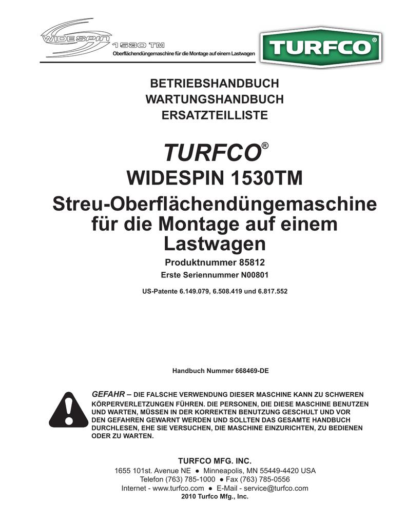 TURFCO® - Jacobsen | manualzz.com