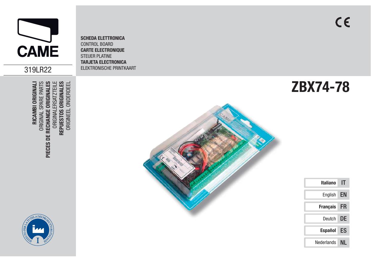 Zbx74 78 Confort Manualzz