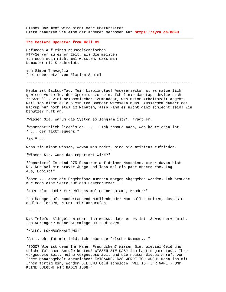 PDF auf AyrA.ch | manualzz.com