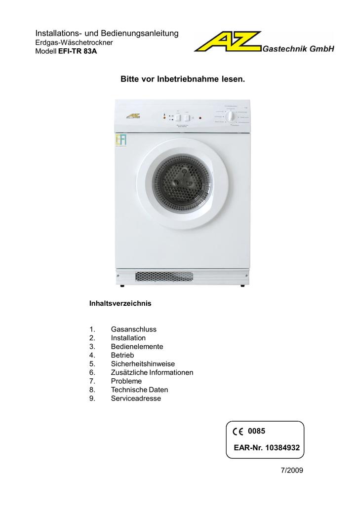 Bedienungsanleitung - AZ Industrietechnik | manualzz.com