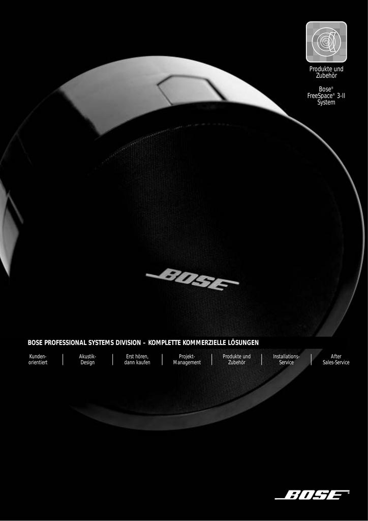 Freespace 3 Serie Ii System