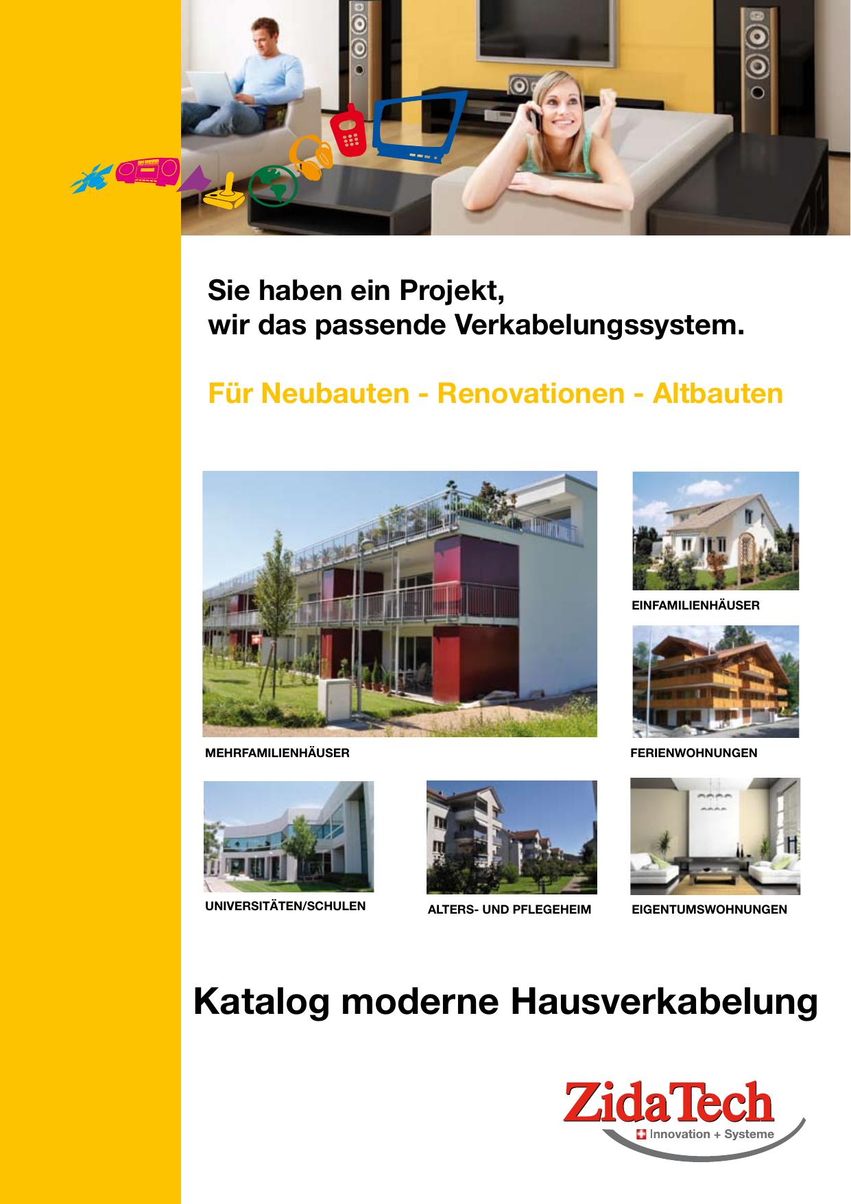 Katalog moderne Hausverkabelung | manualzz.com