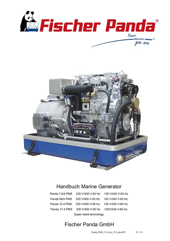 Fischer Panda Handbuch Marine Generator | manualzz.com