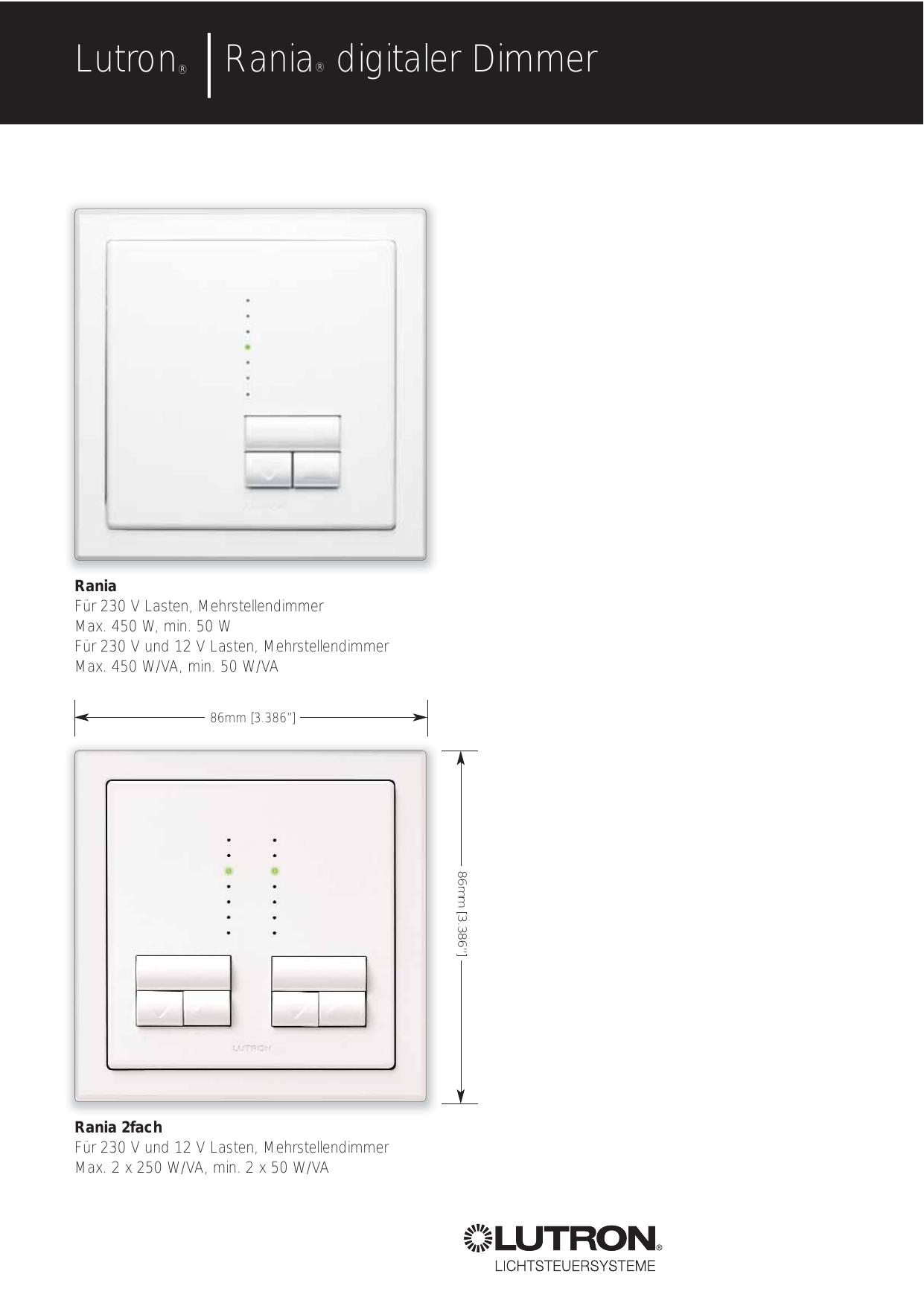 Ungewöhnlich Lutron 4 Wege Schaltplan Galerie - Elektrische ...