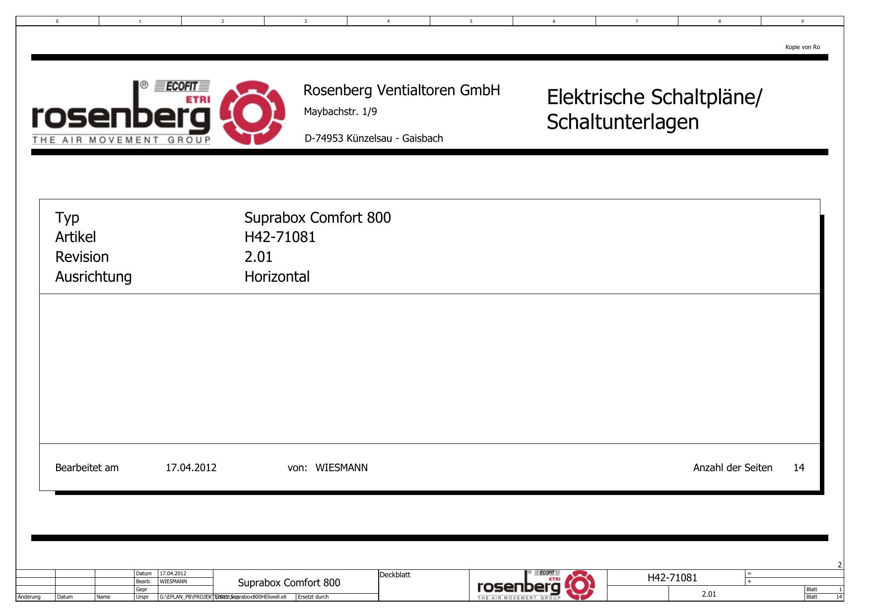 Elektrische Schaltpläne/ Schaltunterlagen   manualzz.com