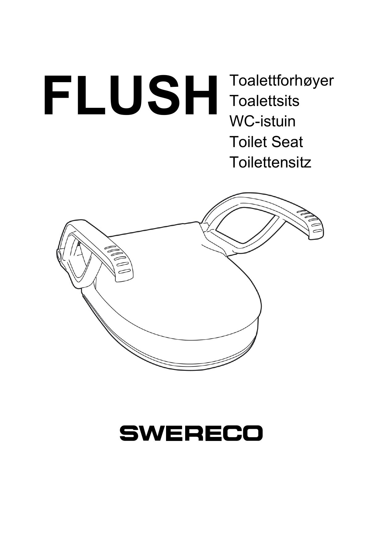 Flush Toalettforhoyer Toalettsits Wc Istuin Toilet Seat Manualzz Com