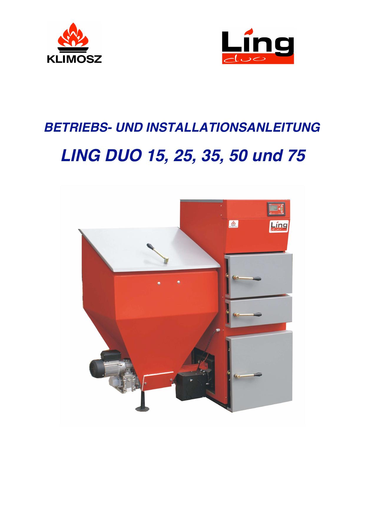Betriebsanleitung Ling Duo 15 | manualzz.com