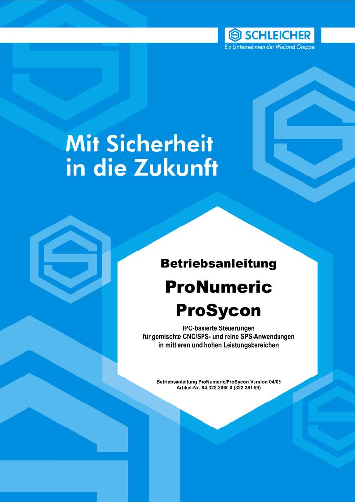 Betriebsanleitung - Schleicher Electronic & Co. KG | manualzz.com