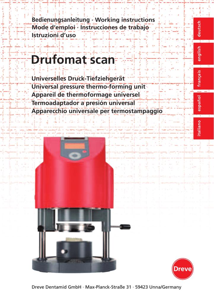 Drufomat scan | manualzz com