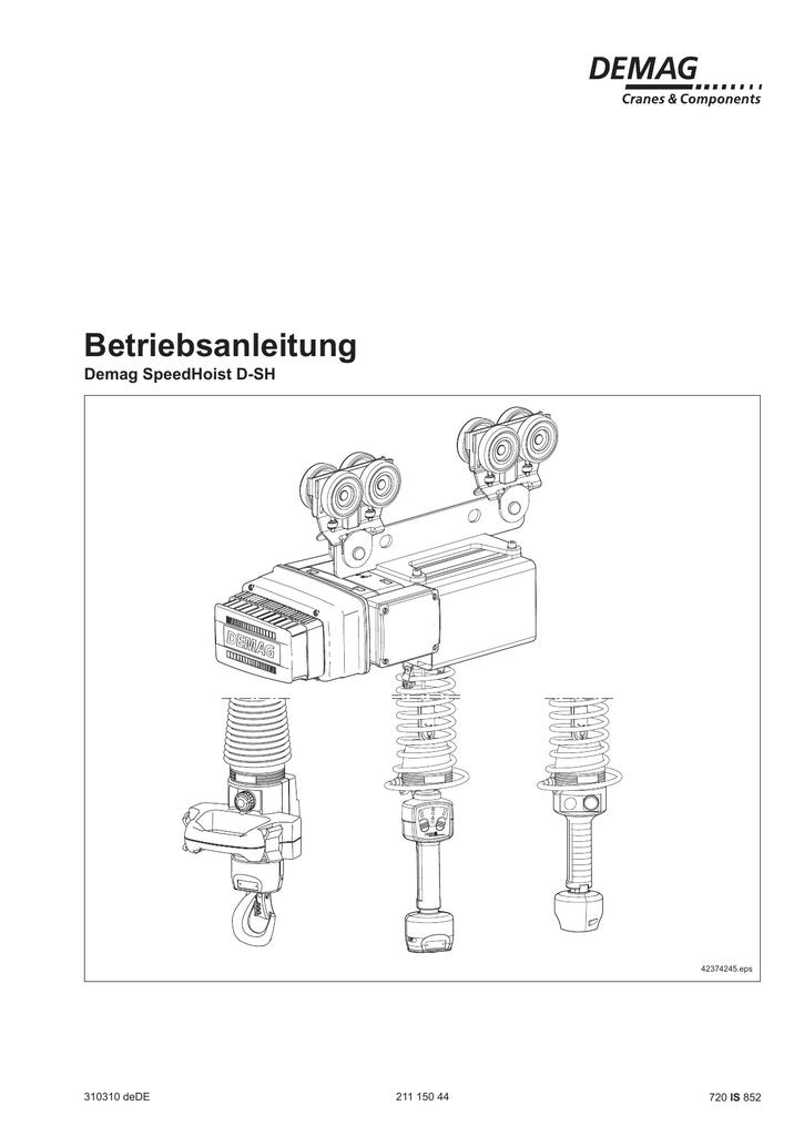 PDF | 10,2 MB - Demag Cranes & Components | manualzz.com