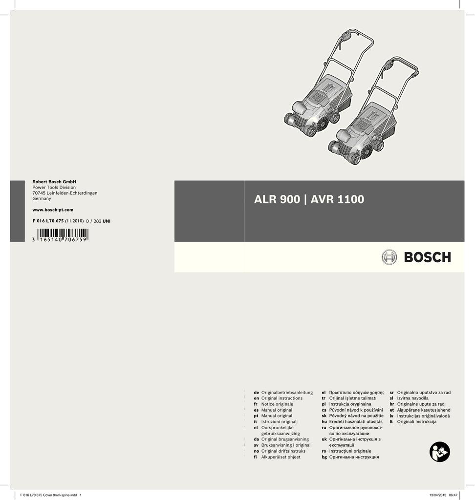 Bosch ALR 900 Raker A 000