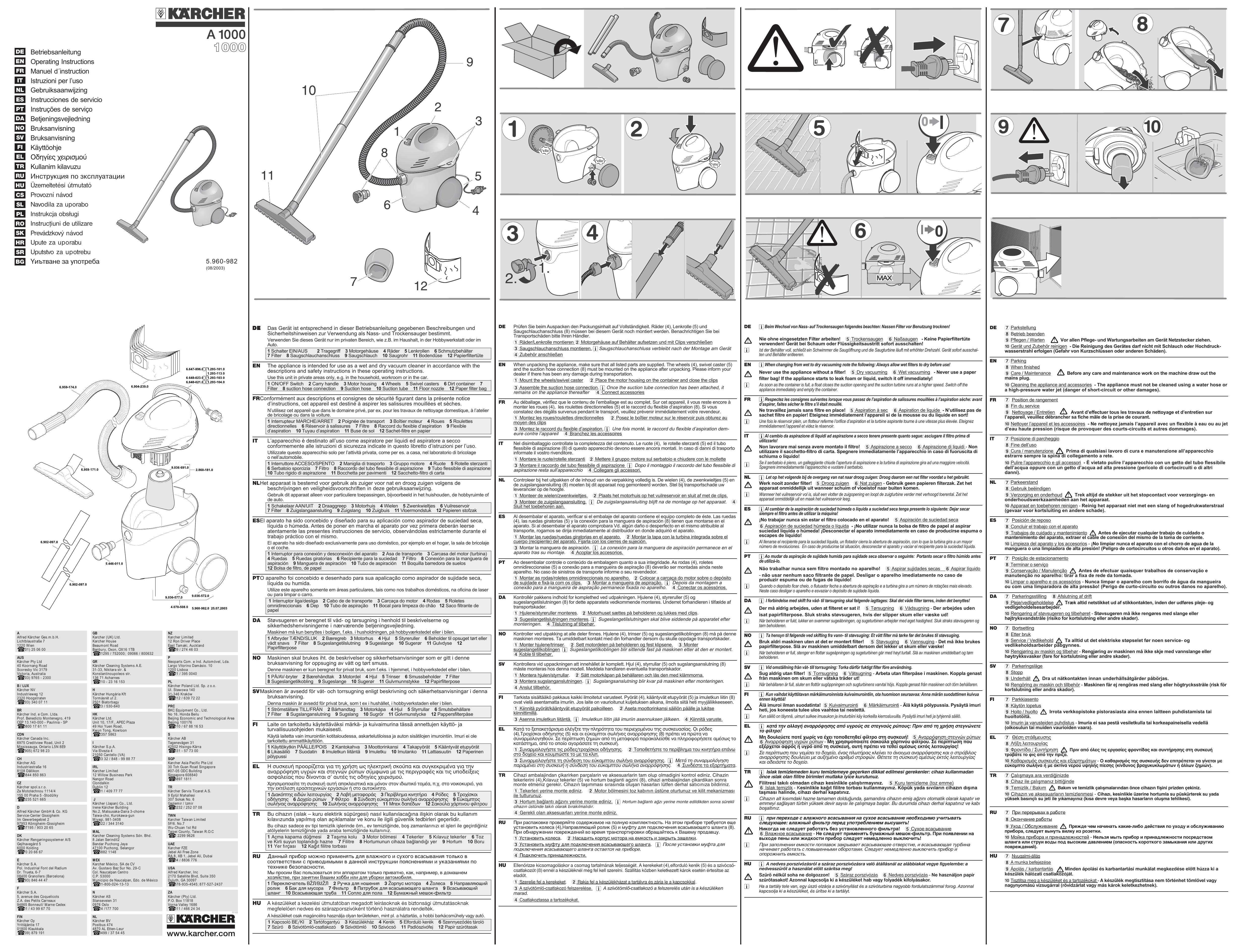 Betriebsanleitung Operating Instructions Manuel D Instruction