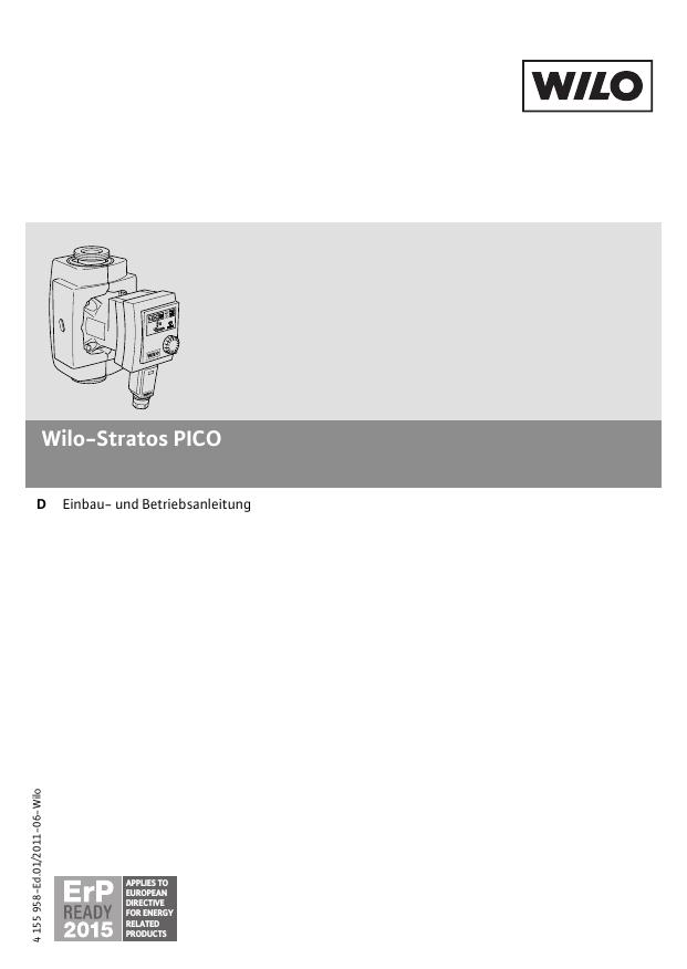Favorit Einbau- und Betriebsanleitung | manualzz.com QF14