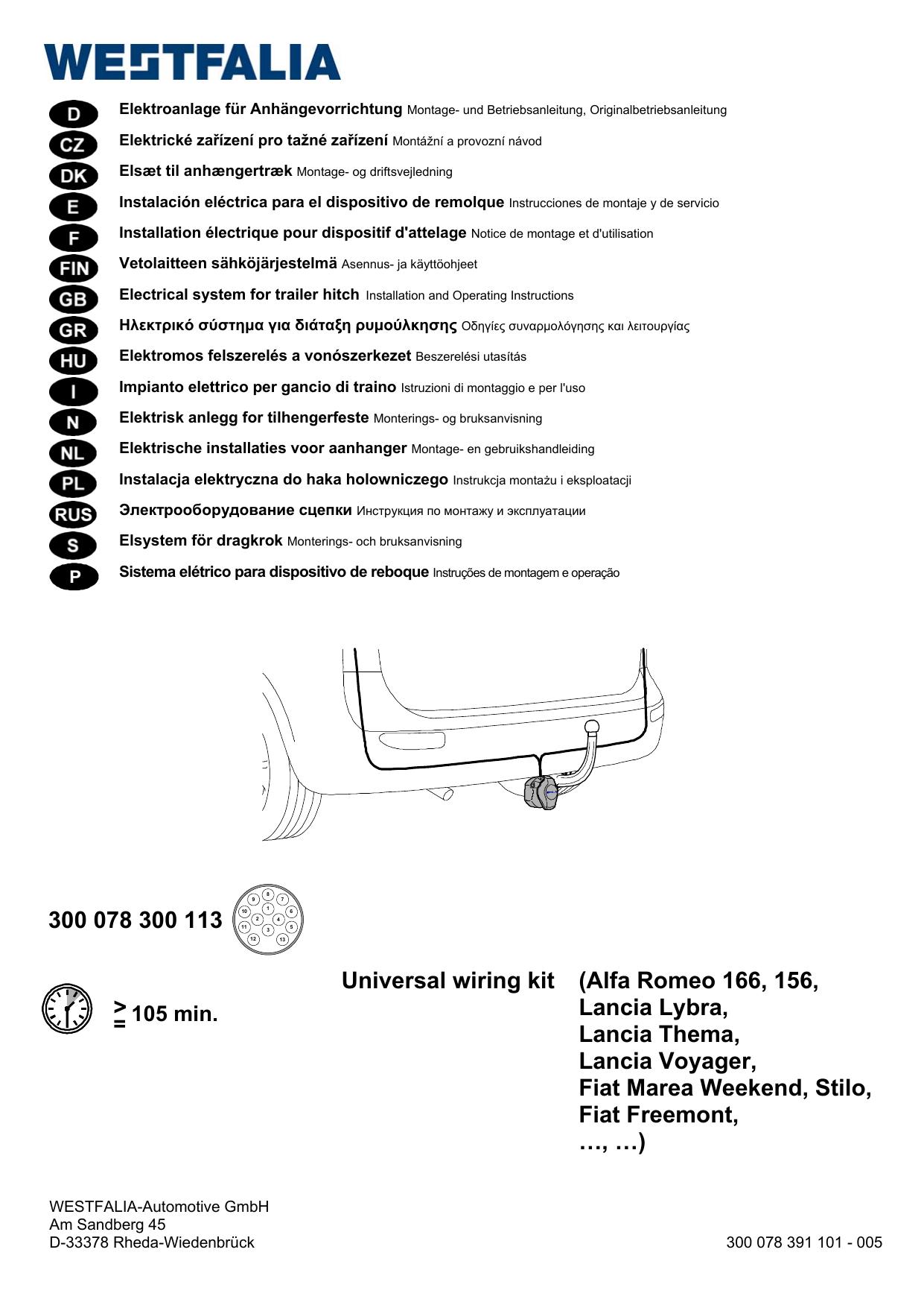 Installation Guide Westfalia Manualzz Com