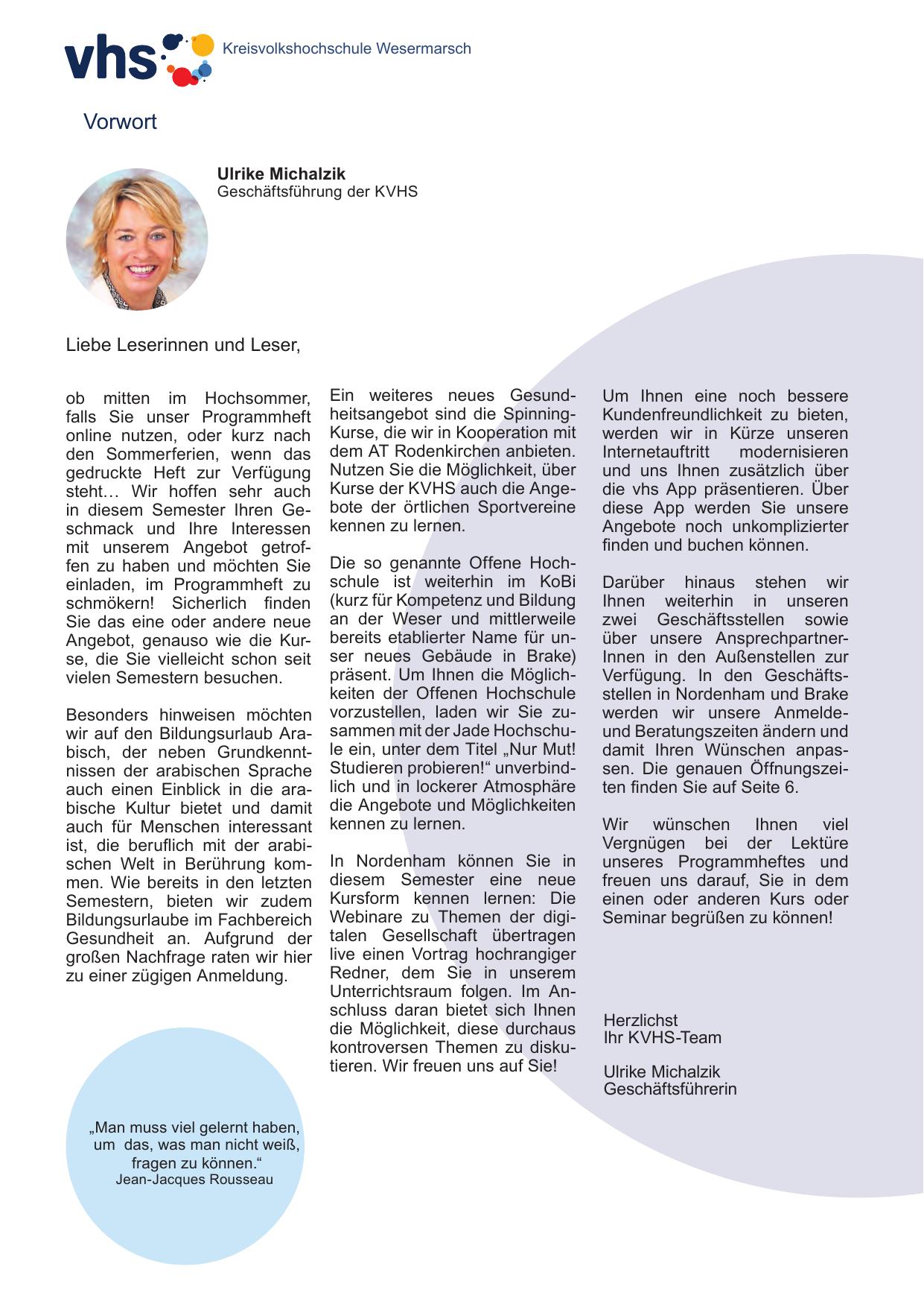 KVHS-Programmheft Herbstsemester 2015 | manualzz.com