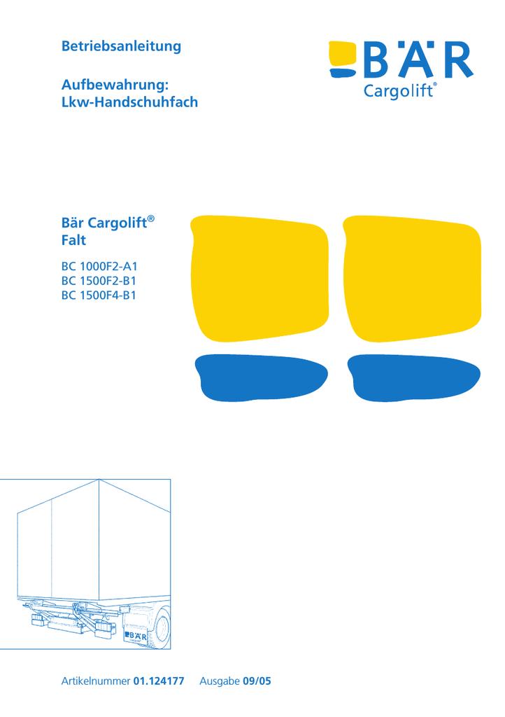 Leistungsrelais 24V für Bär Cargolift Ladebordwand Hebebühne