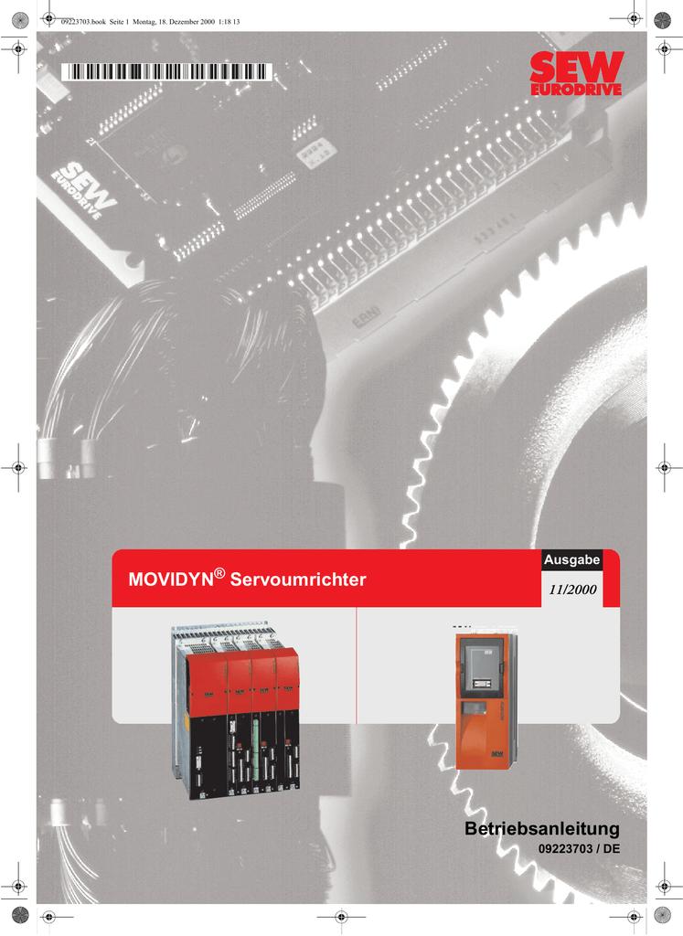 MOVIDYN® Servoumrichter / Betriebsanleitungen | manualzz.com