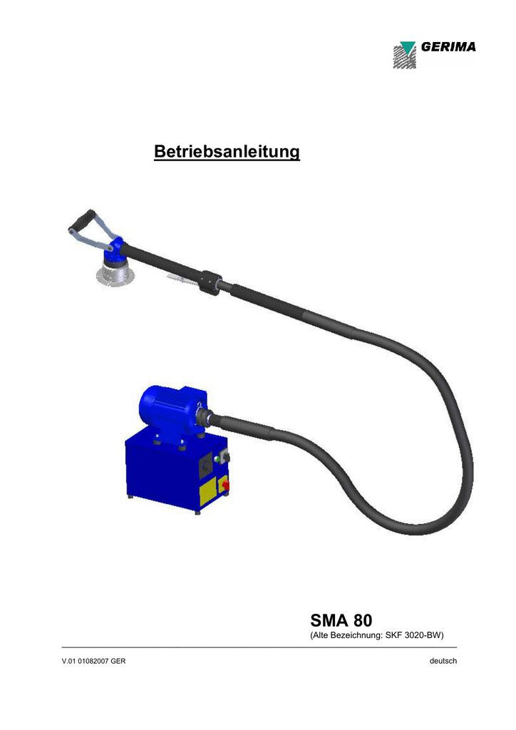 Betriebsanleitung SMA 80 | manualzz.com