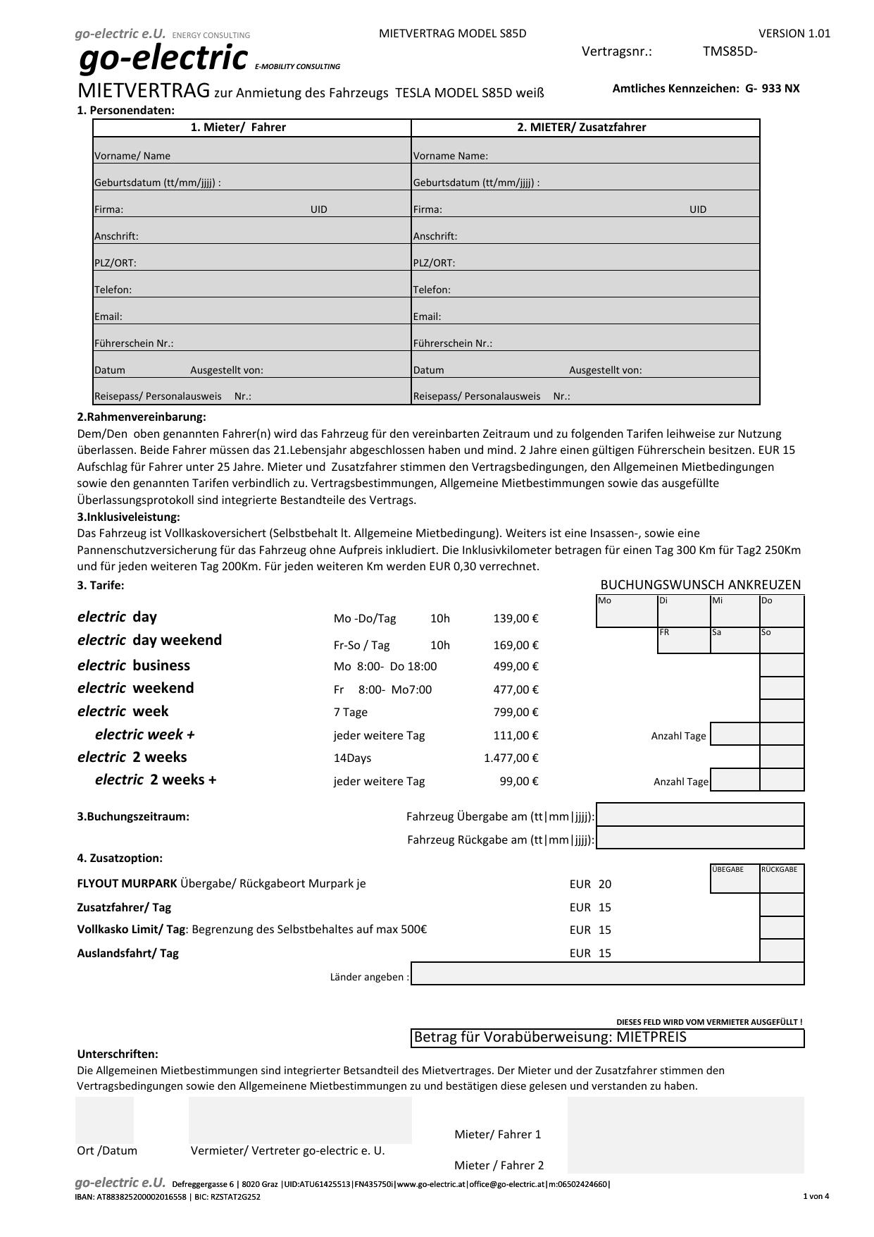 MIETVERTRAG TESLA MS85D V1.02 | manualzz.com