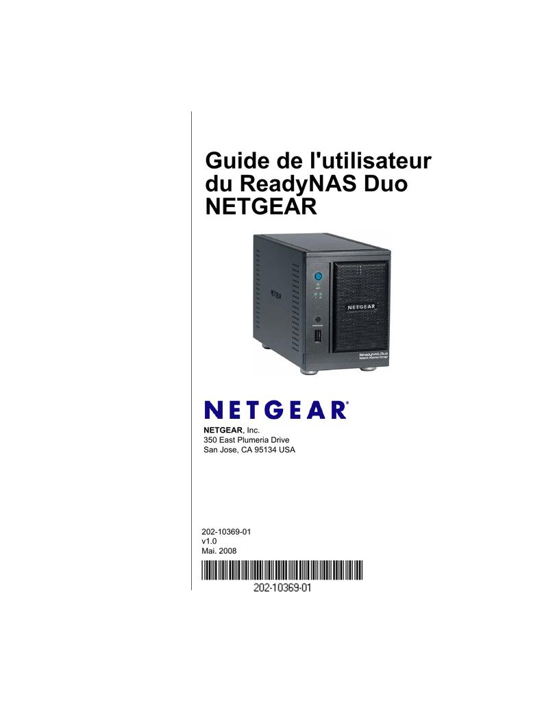 Guide de l'utilisateur du ReadyNAS Duo NETGEAR   manualzz com