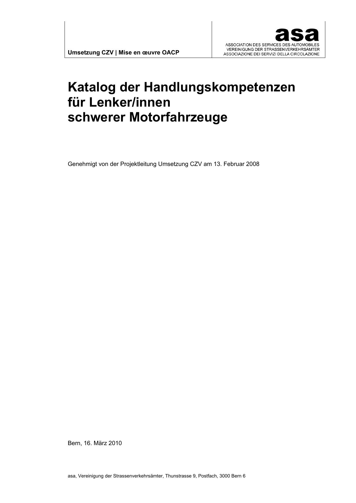 Katalog der Handlungskompetenzen | manualzz.com