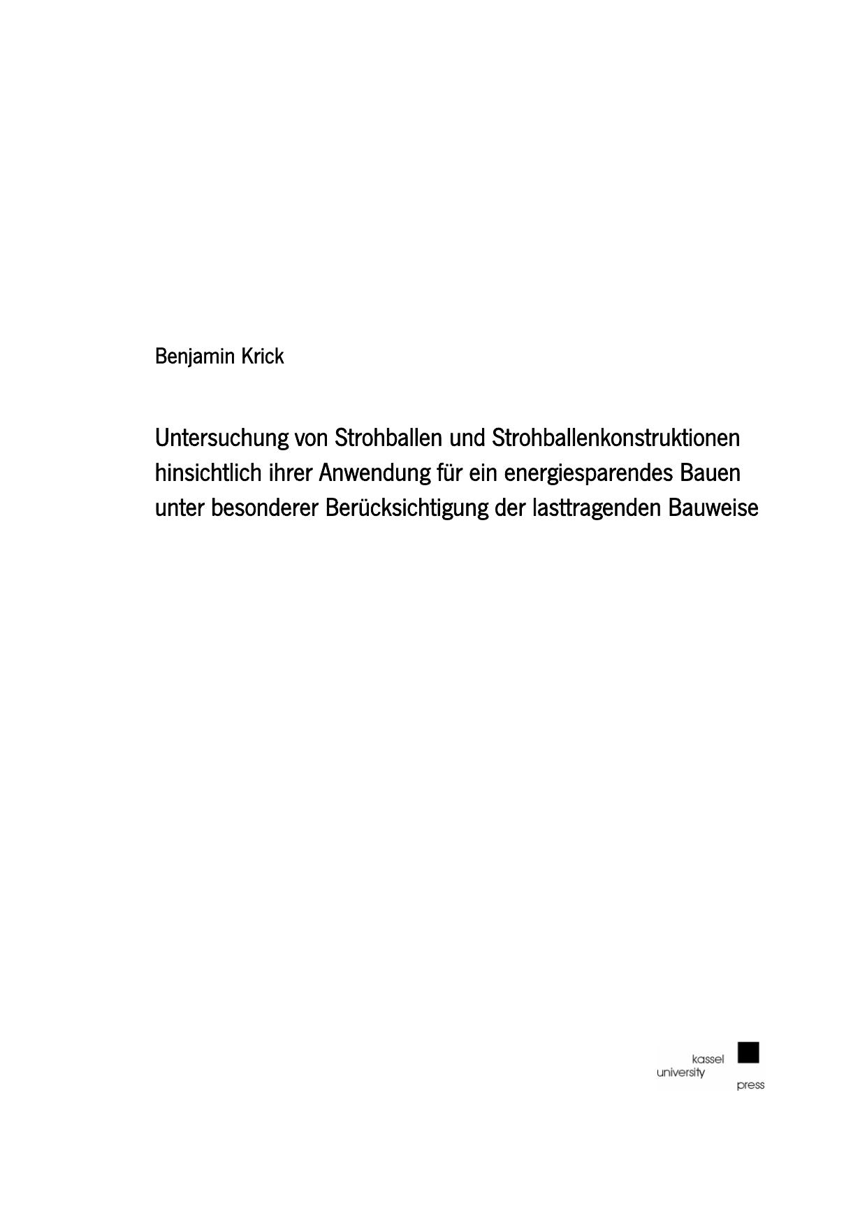 Untersuchung von Strohballen und | manualzz.com