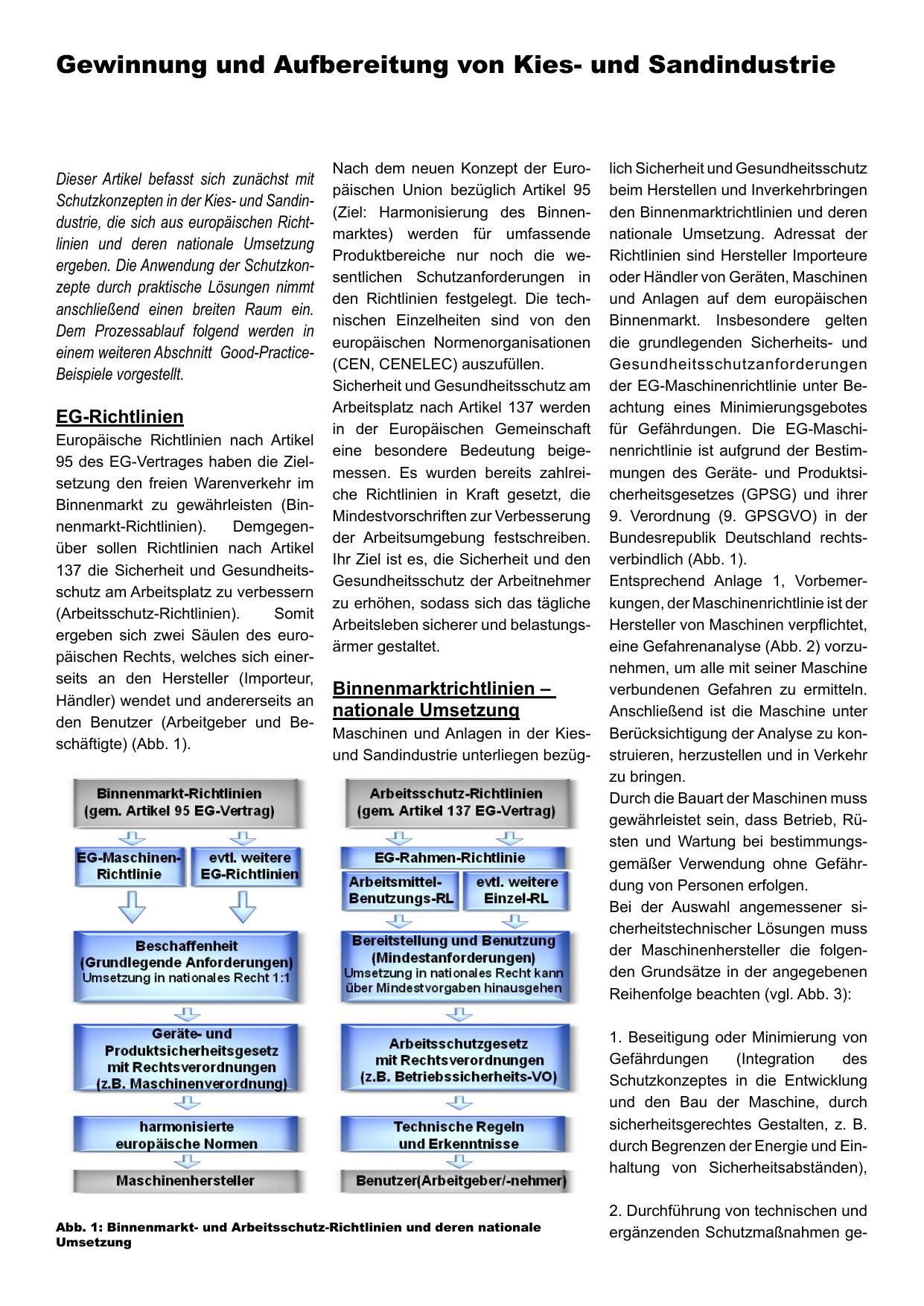 Gewinnung und Aufbereitung von Kies- und | manualzz.com