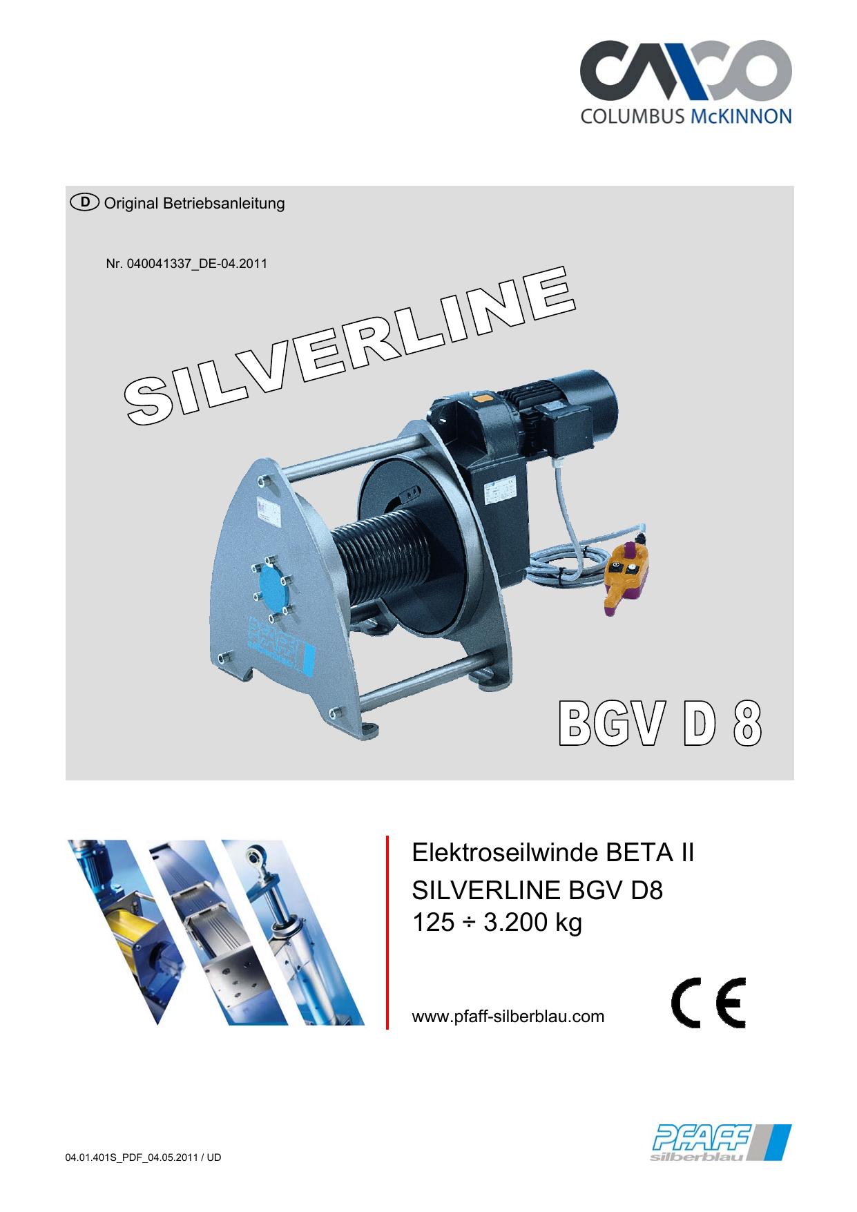 Bedienungsanleitung Modell BETA SILVERLINE | manualzz.com