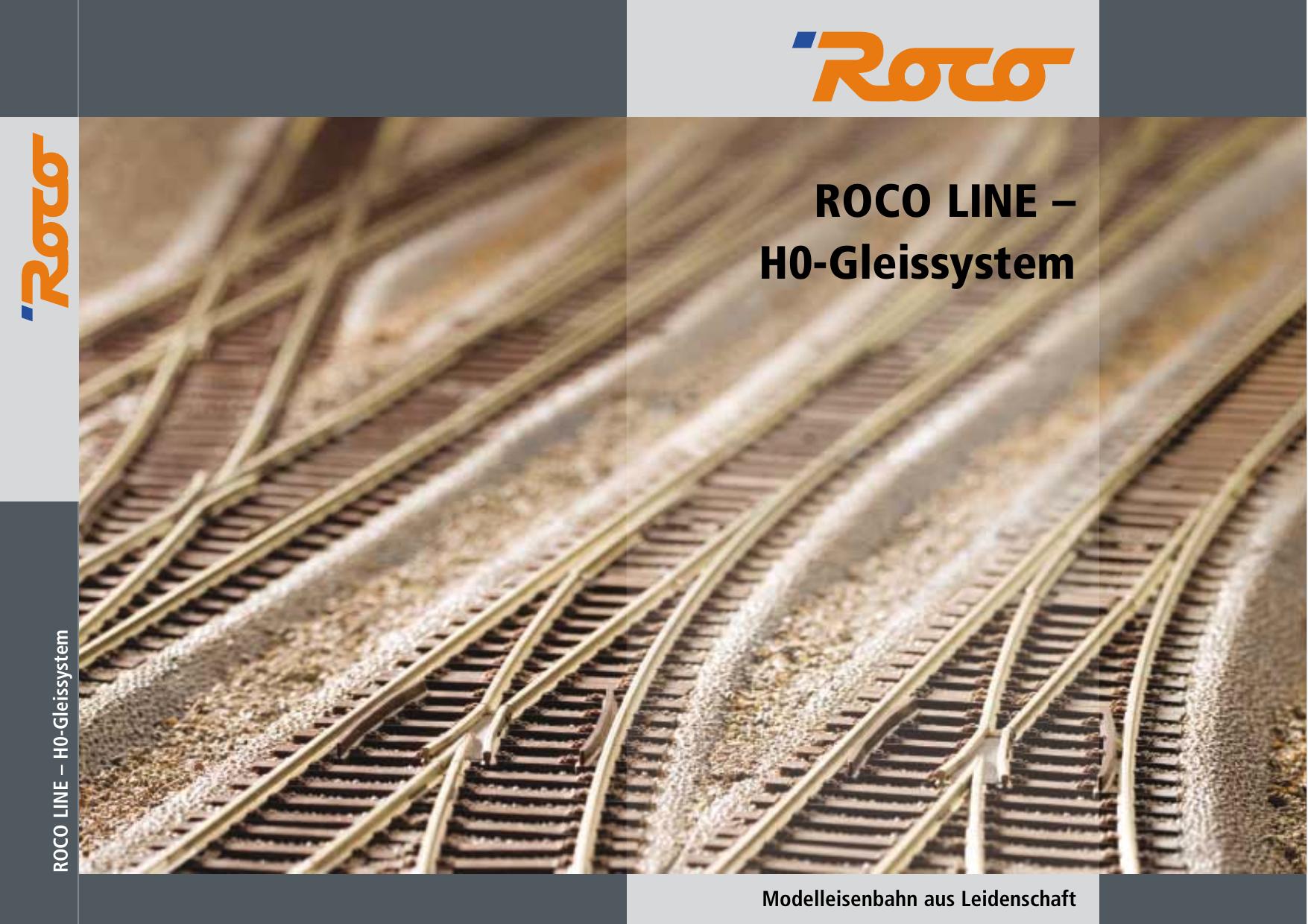 Roco Line H0 Manualzz Com