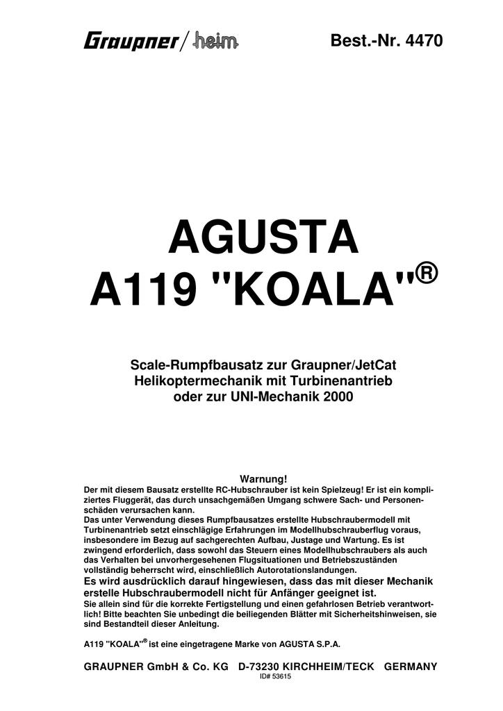 AGUSTA A119 \